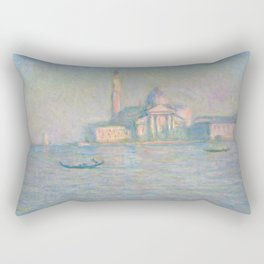 The Church of San Giorgio Maggiore, Venice Rectangular Pillow