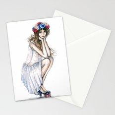 Fourth of July // Fashion Illustration Stationery Cards