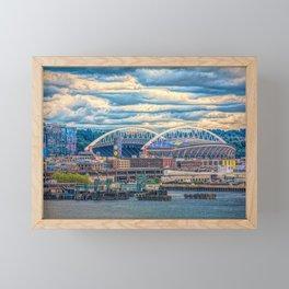 Seattle Stadium Framed Mini Art Print