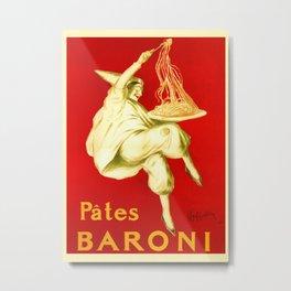 Pasta Baroni Leonetto Cappiello Metal Print