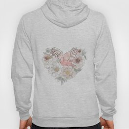 Bird of Paradise #floral Hoody