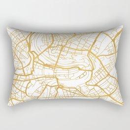 BERN SWITZERLAND CITY STREET MAP ART Rectangular Pillow