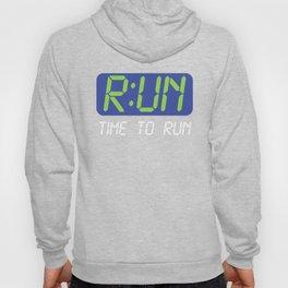 Run O'Clock Time To Run Hoody
