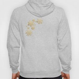 Gold Snow Hoody