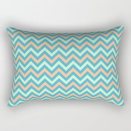 Chevron - coastal 1 Rectangular Pillow