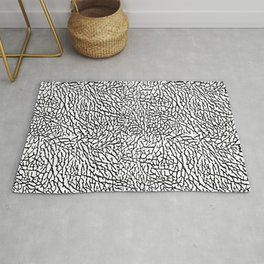 Elephant Print Pattern Rug