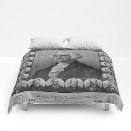 Presidents of The United States 1789-1889 Comforters