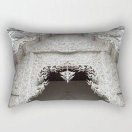 The White Temple - Thailand - 012 Rectangular Pillow