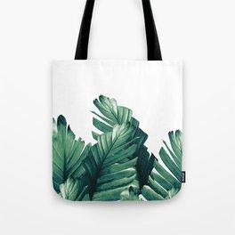 Green Banana Leaves Dream #1 #tropical #decor #art #society6 Tote Bag