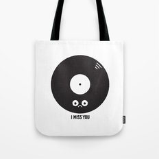 For the Record Tote Bag