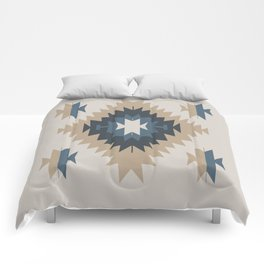 Santa Fe Southwest Native American Indian Tribal Geometric Pattern Comforters