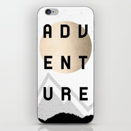 Adventure Golden Sunrise iPhone Skin