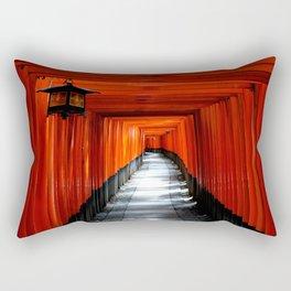 Fushimi Inari Path, Kyoto Rectangular Pillow