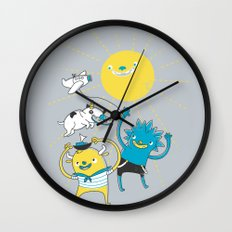 It's a nice day to play! Wall Clock