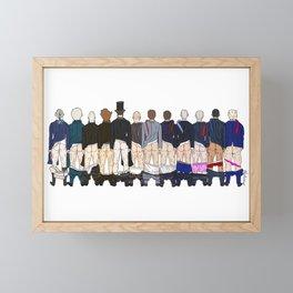 President Butts LV Framed Mini Art Print