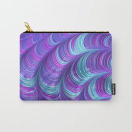 Jewel Tone Abstract Carry-All Pouch