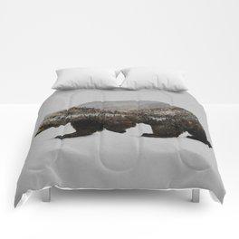 The Kodiak Brown Bear Comforters