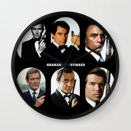007 Meet 007 & 007 & 007, 007 Bond Wall Clock