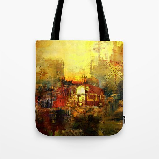 The trein from nowhere Tote Bag