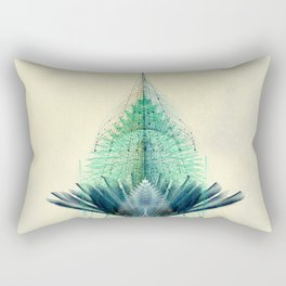 The Feathered Tribe Abstract / I Rectangular Pillow