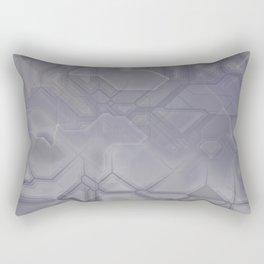 future fantasy steel Rectangular Pillow