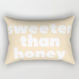sweeter than honey Rectangular Pillow