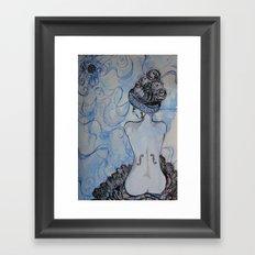 Man Ray inspired Framed Art Print