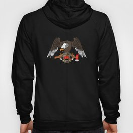 Patriotic Firefighter Eagle Fire Department Hoody