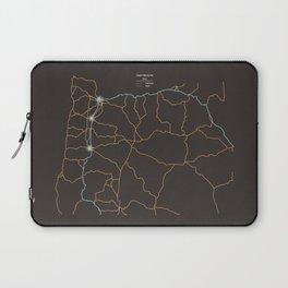 Oregon Highways Laptop Sleeve