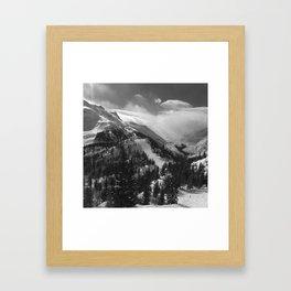 VAL VENY & GLACIER DU MIAGE Framed Art Print