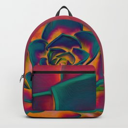"""Exotic Succulent Pop Art"" Backpack"