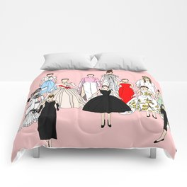 Audrey Hepburn Think Pink Outfits Fashion Comforters