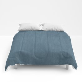 Blue Indigo Denim Comforters