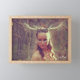 The Seeker Framed Mini Art Print