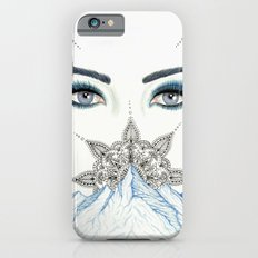 Winter Eyes Mountain Range Mandala iPhone 6s Slim Case