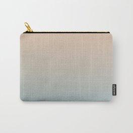 HALF MOON - Minimal Plain Soft Mood Color Blend Prints Carry-All Pouch