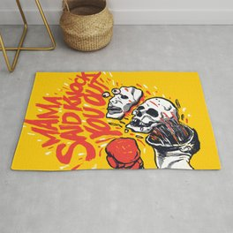 Knockout Punch Rug