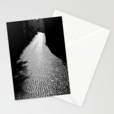 The alley by the wall Stationery Cards