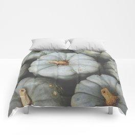 Gray Pumpkins Comforters