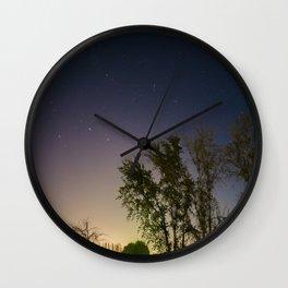 Stars Align Wall Clock