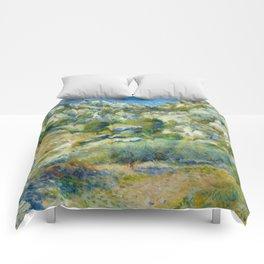 """Auguste Renoir """"Rocky Crags at L'Estaque"""" Comforters"""