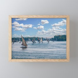 Nile River - Egypt Framed Mini Art Print