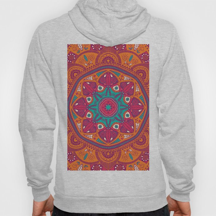 Colorful Mandala Pattern 017 Hoody