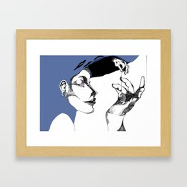 A Delicate Sleep Framed Art Print