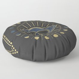 The Third Eye or The Sixth Chakra Floor Pillow