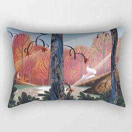 Encounter (the spark) Rectangular Pillow