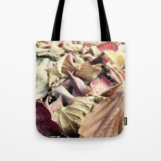 Fall Leaves 3 Tote Bag