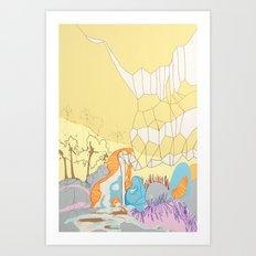 Free Energy Art Print