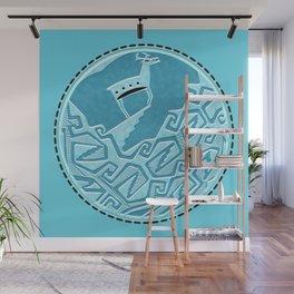 Blue Antelope Wall Mural