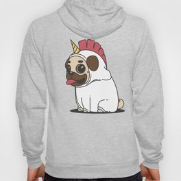 The Elusive Pugicorn Hoody